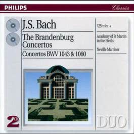 Bach, J.S.: The Brandenburg Concertos etc 2001 Neville Marriner