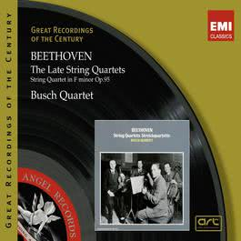 Beethoven: The Late String Quartets 2011 Chopin----[replace by 16381]
