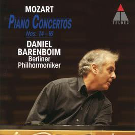 Mozart : Piano Concertos Nos 14, 15 & 16 2006 Daniel Barenboim