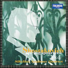 Shostakovich : String Quartets No.3 & No.4 2011 Sibelius Academy Quartet, The