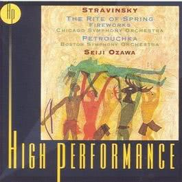 Stravinsky: Rite Of Spring Fireworks Petrouchka Ozawa Tilson Thomas Chicago Symphony 1999 Seiji Ozawa