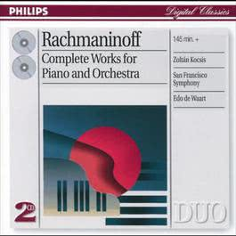 Rachmaninov: Complete Works for Piano and Orchestra 2001 Rachmaninov