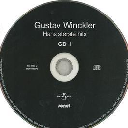Hans Største Hits 2008 Gustav Winckler