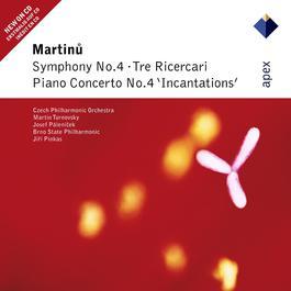 Martinu : Symphony No.4, Piano Concerto No.4 & 3 Ricercari 2007 Martin Turnovsky