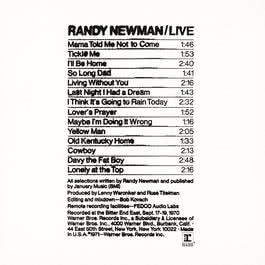Randy Newman / Live 2009 Randy Newman
