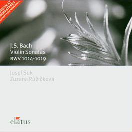 Bach, JS : Violin Sonatas Nos 1 - 6 [Complete]  -  Elatus 2007 Joseph Suk