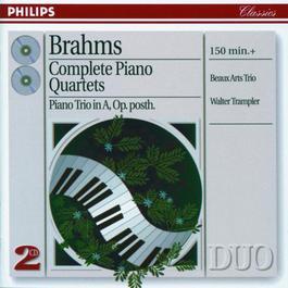 Brahms: Complete Piano Quartets 1996 Beaux Arts Trio; Walter Trampler