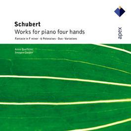 Schubert : Works for piano four hands 2007 Anne Queffelec; Imogen Cooper