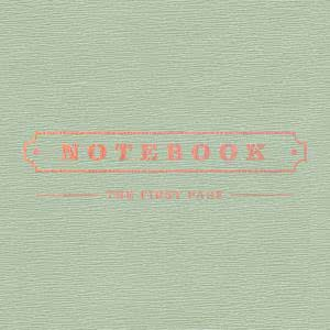 Notebook - The First Page