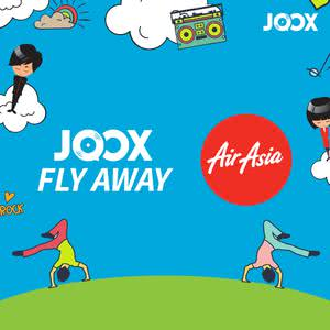 JOOX Fly Away Air Asia