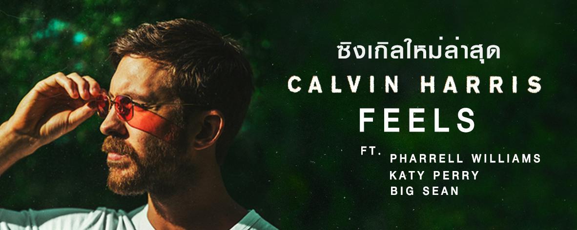 เพลย์ลิสต์ Single : Feels - Calvin Harris