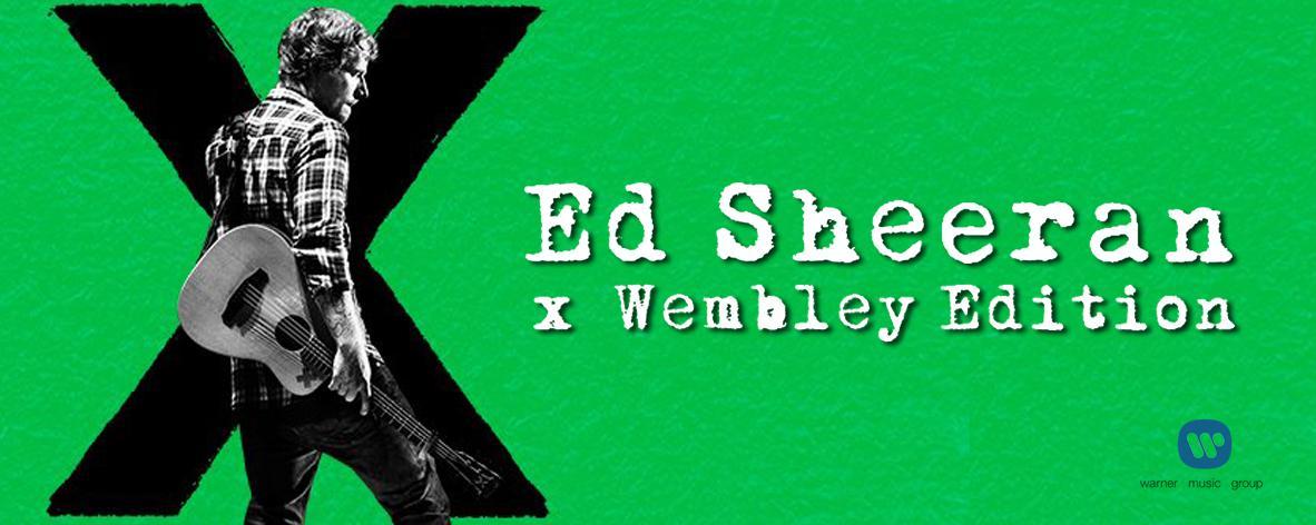 อัลบั้มเพลง X (Wembley Edition) - Ed Sheeran