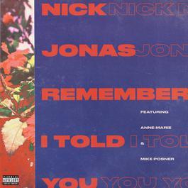 อัลบั้ม Remember I Told You
