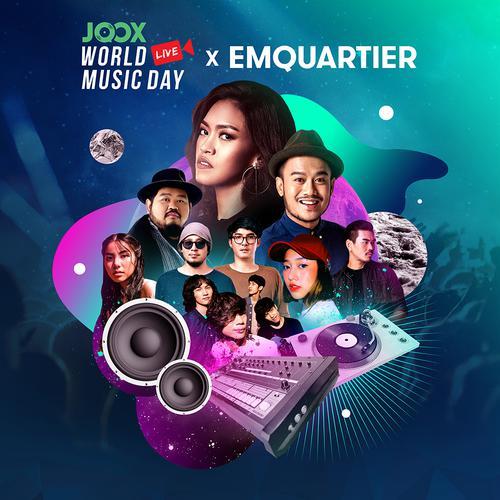 ฟังเพลงต่อเนื่อง JOOX World Music Day 2018